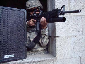 PA systems assist German brigade training