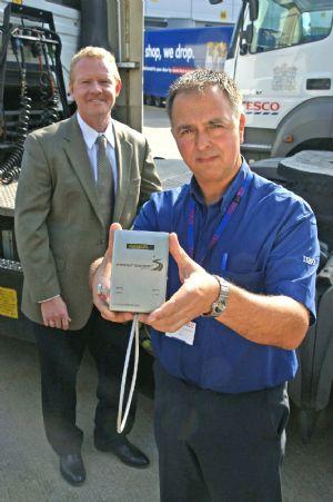 Tamper evident seals for Tesco haulage fleet
