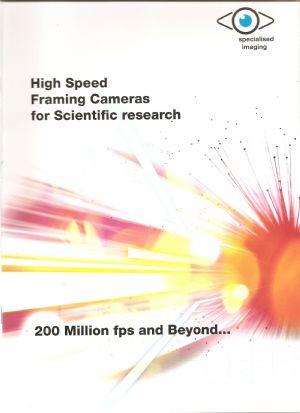 Specialist Scientific Camera Brochure Available