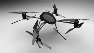 Unmanned Aerial Vehicle For Transport Infrastructure Protection