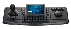 Touch Screen Control Keyboard For Surveillance Systems