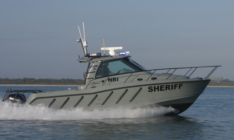 Boat-mounted Radiation Detection Equipment For Maritime Patrols