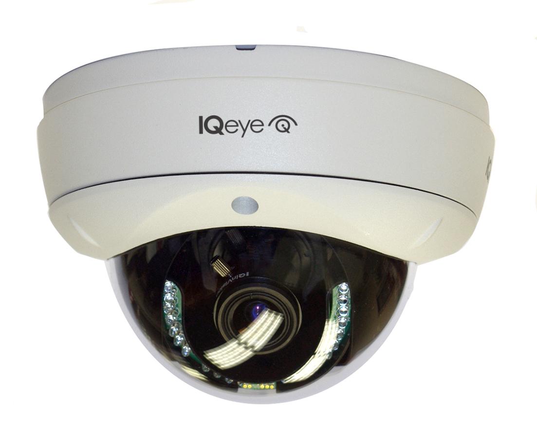5 megapixel dome cameras with IR illumination