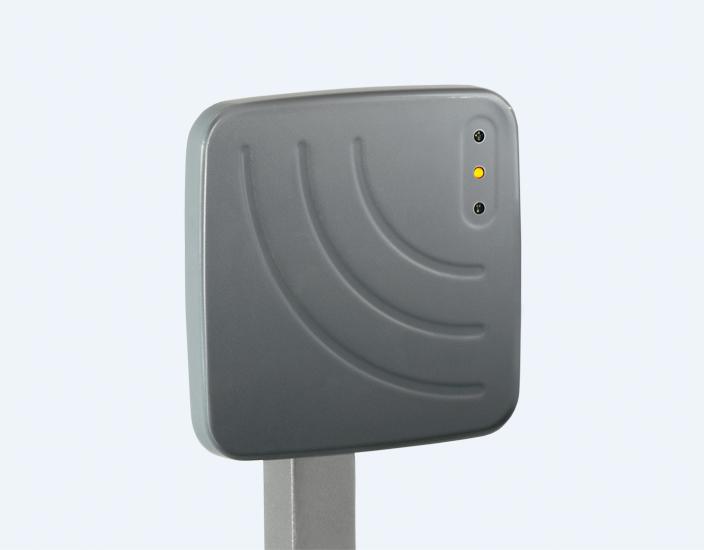 Long range RFID reader for easy vehicular access