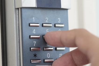 Mobile based GSM door entry system