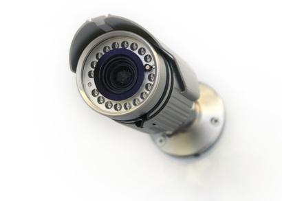 Laser focussing for PTZ cameras