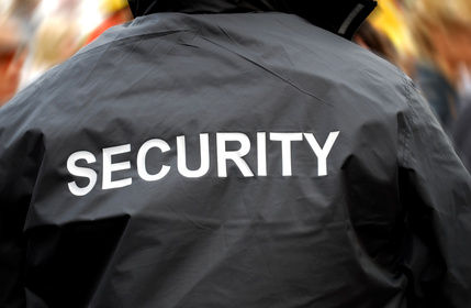 UK security officer commended for bravery