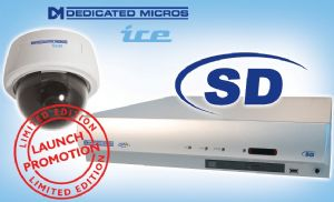 Free ICED-HyperDome to installers purchasing SD range DVR