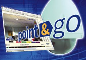 Point and go PTZ controller features on Oracle dome camera