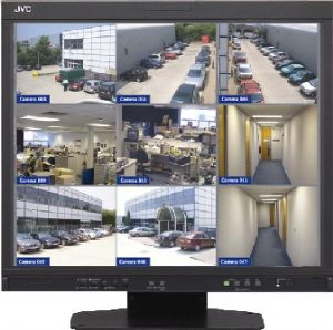 Robust large screen monitor for the security industry