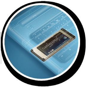 Mobile computing security hardware for ExpressCard slot