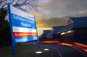 Electronic access control for Salisbury hospital