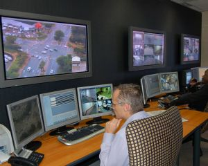 IP surveillance network linked into South African security patrols