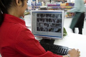 Smart surveillance for supermarket chain