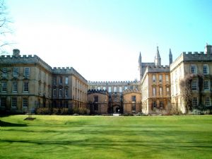 Contactless access control for Oxford college