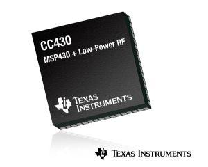 Low energy, small footprint CC430 technology