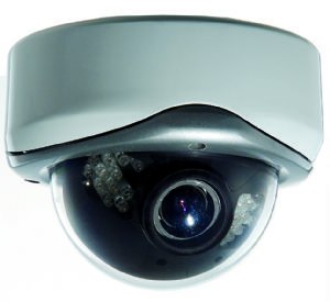 4-Axis vandal proof dome camera
