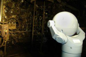 Virtual submarine tours using MIC series Bosch cameras