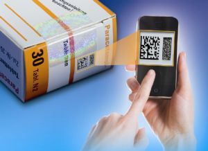 Digital authentication technology built into anti-counterfeit devices