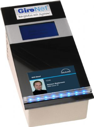 Multifunctional access control card for MAN Diesel employees