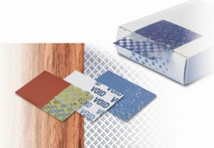 The void seal provides the right materials, adhesives and designs for any tamper proof requirement